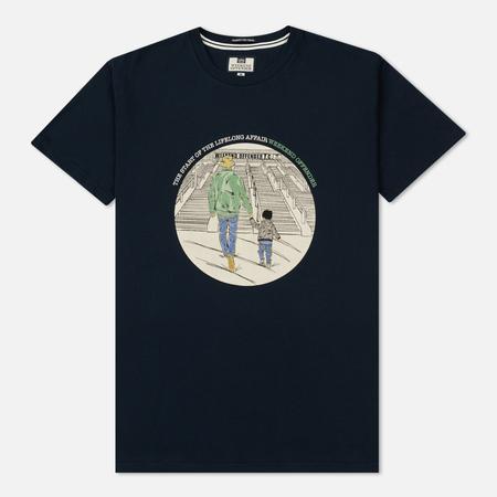 Мужская футболка Weekend Offender Lifelong Affair Navy
