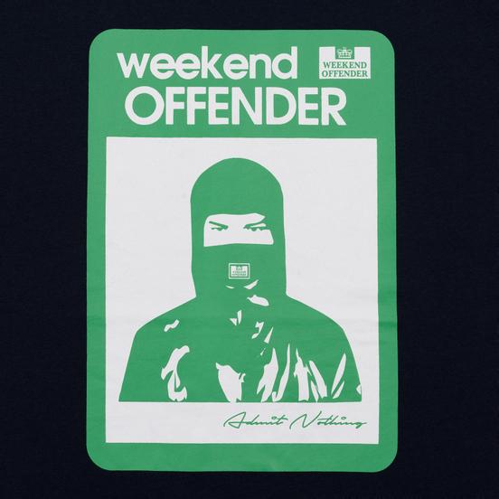 Мужская футболка Weekend Offender Marciano Navy