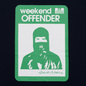 Мужская футболка Weekend Offender Marciano Navy фото - 2