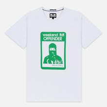 Мужская футболка Weekend Offender Marciano White фото- 0