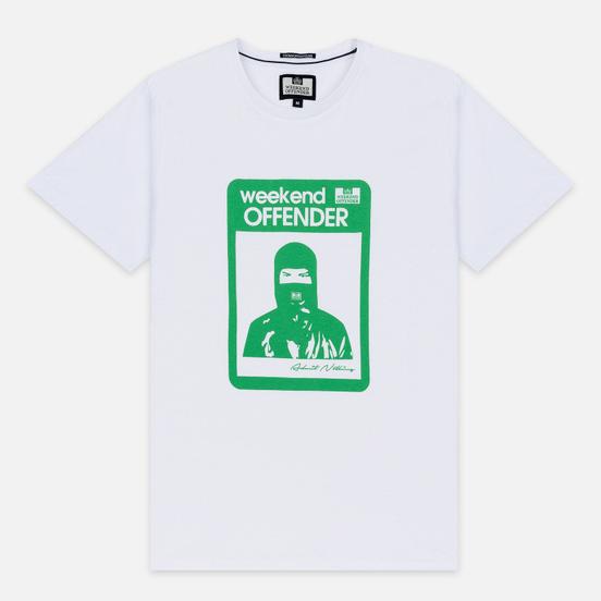 Мужская футболка Weekend Offender Marciano White