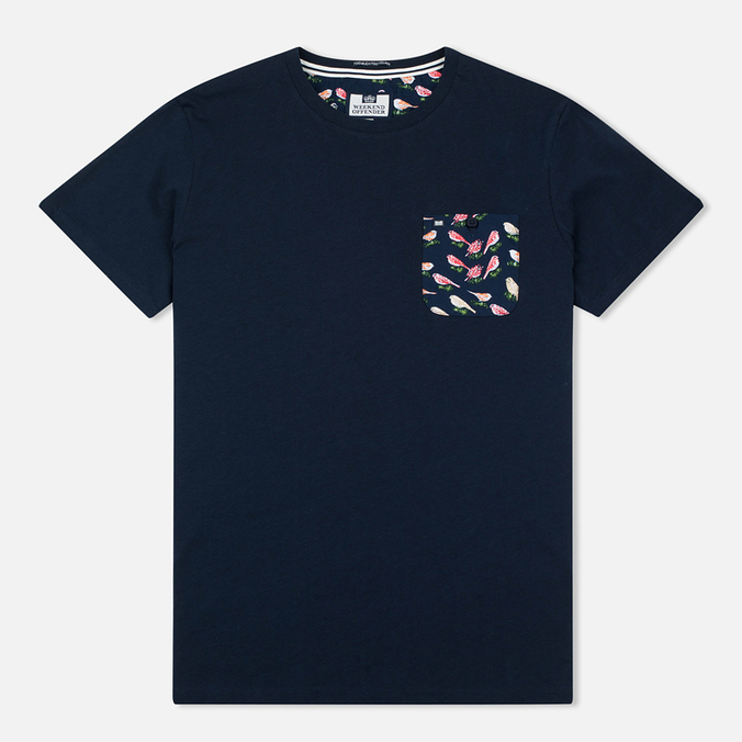 Weekend Offender Montego Men's T-shirt Navy