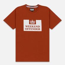 Мужская футболка Weekend Offender Prison AW19 Cinnamon фото- 0