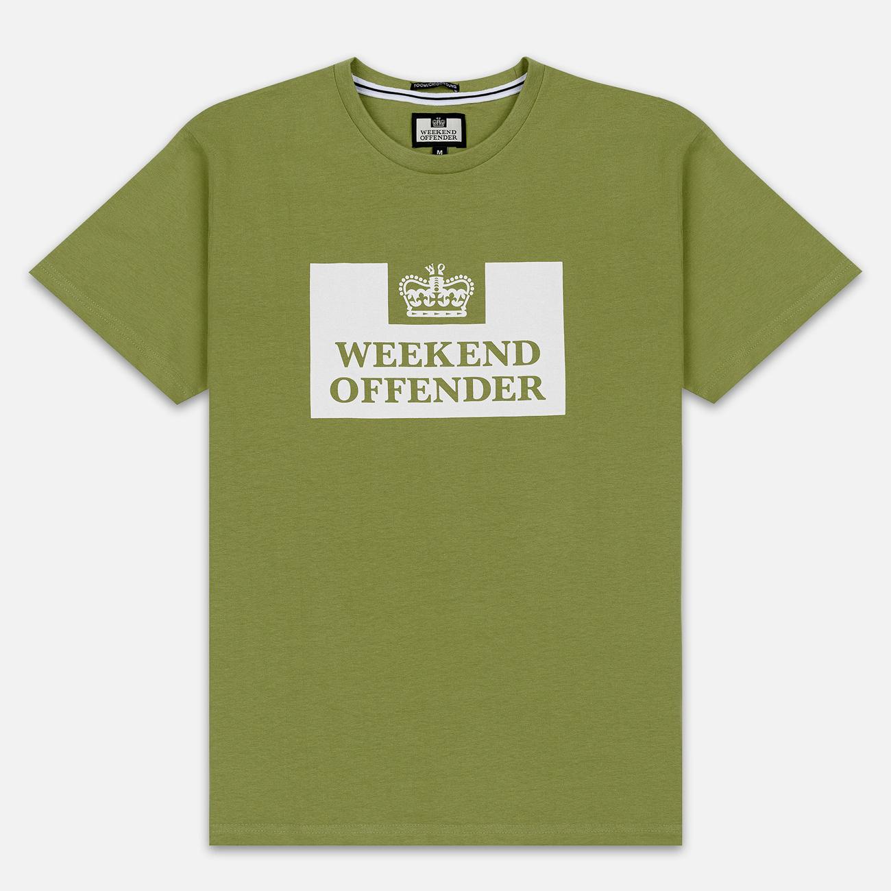 Мужская футболка Weekend Offender Prison AW19 Nettle
