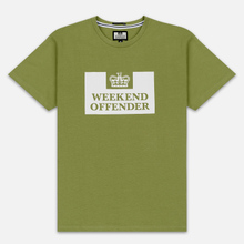 Мужская футболка Weekend Offender Prison AW19 Nettle фото- 0