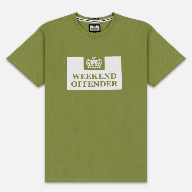 Мужская футболка Weekend Offender Prison AW19 Nettle