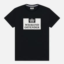 Мужская футболка Weekend Offender Prison Black фото- 0