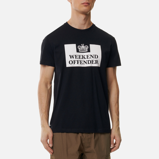 Мужская футболка Weekend Offender Prison Black