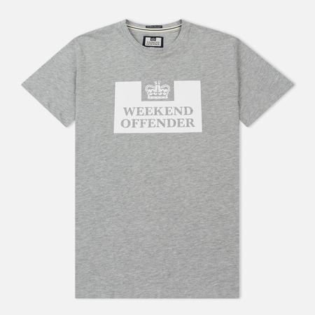 Мужская футболка Weekend Offender Prison Grey Marl