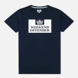 Weekend Offender Prison Men's T-shirt Navy photo- 0
