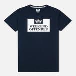 Мужская футболка Weekend Offender Prison Navy фото- 0