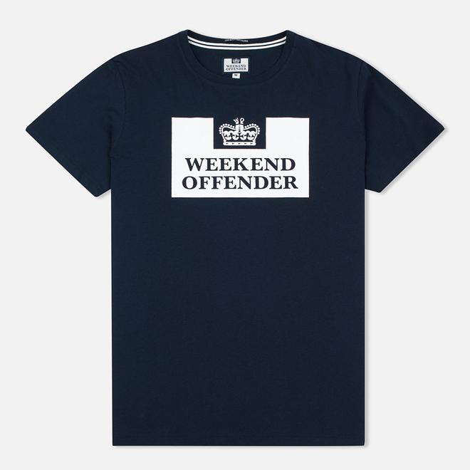 Мужская футболка Weekend Offender Prison Navy