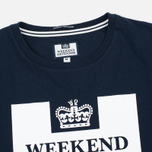 Weekend Offender Prison Men's T-shirt Navy photo- 1