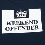 Weekend Offender Prison Men's T-shirt Navy photo- 2