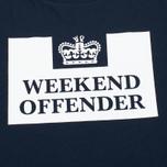 Мужская футболка Weekend Offender Prison Navy фото- 2