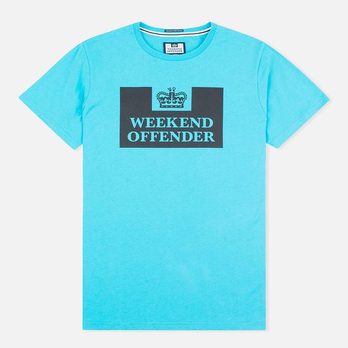 Мужская футболка Weekend Offender Prison Ocean