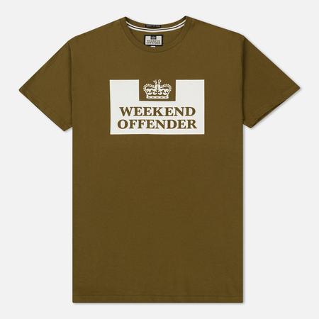 Мужская футболка Weekend Offender Prison Olive
