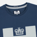 Мужская футболка Weekend Offender Prison Reflective Navy фото- 1