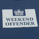Мужская футболка Weekend Offender Prison Reflective Navy фото- 2