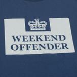 Weekend Offender Prison Men's T-shirt Reflective Navy photo- 2