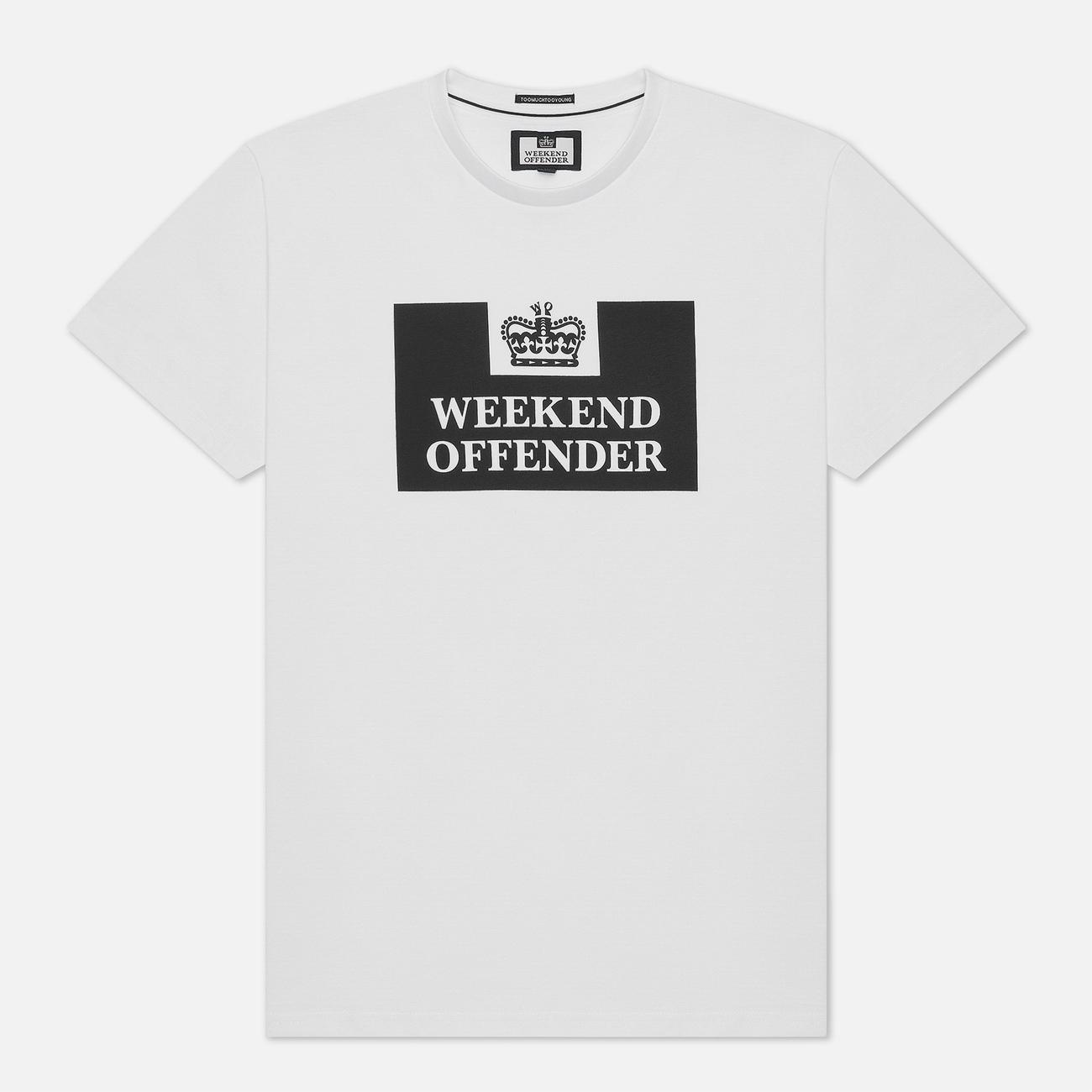 Мужская футболка Weekend Offender Prison White