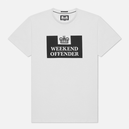 Weekend Offender Prison Men's T-shirt White