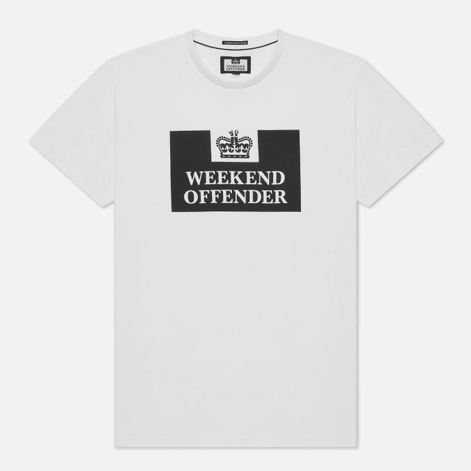 Weekend Offender Prison Men's T-shirt White