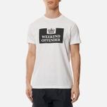 Weekend Offender Prison Men's T-shirt White photo- 2
