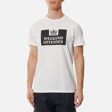 Мужская футболка Weekend Offender Prison White фото- 2