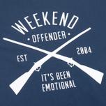 Мужская футболка Weekend Offender Rifles Navy фото- 2