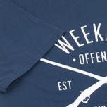 Мужская футболка Weekend Offender Rifles Navy фото- 3