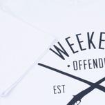 Мужская футболка Weekend Offender Rifles White фото- 3