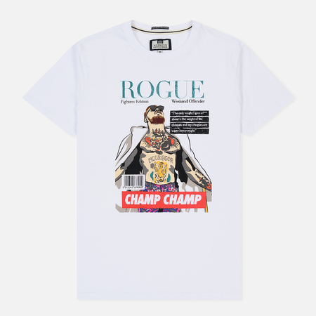 Мужская футболка Weekend Offender Rogue McGregor White