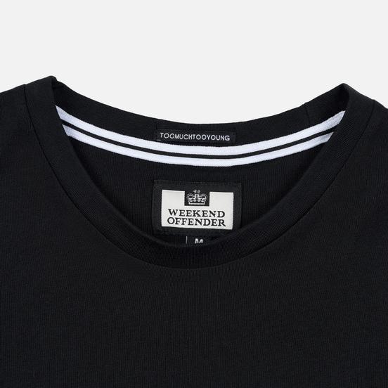 Мужская футболка Weekend Offender Santiago Black