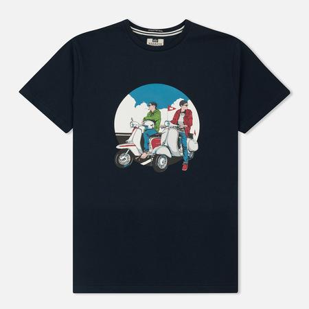 Мужская футболка Weekend Offender Scooters Navy