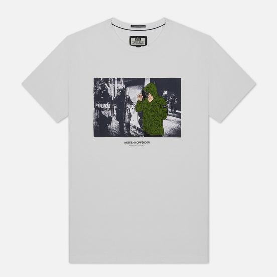 Мужская футболка Weekend Offender Smiley White