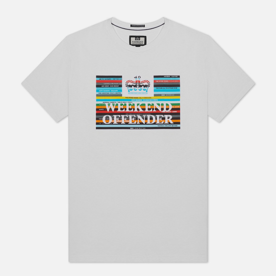 Мужская футболка Weekend Offender Spines White