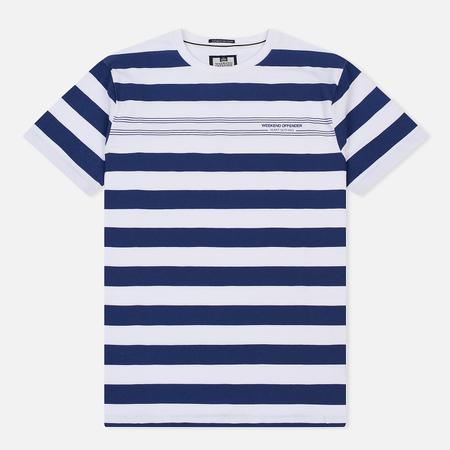 Мужская футболка Weekend Offender Stripes White