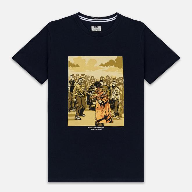 Мужская футболка Weekend Offender The Firm Navy