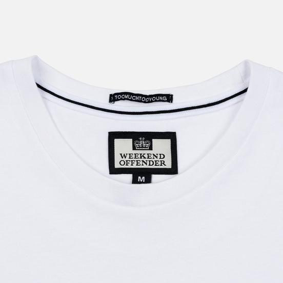 Мужская футболка Weekend Offender The Firm White