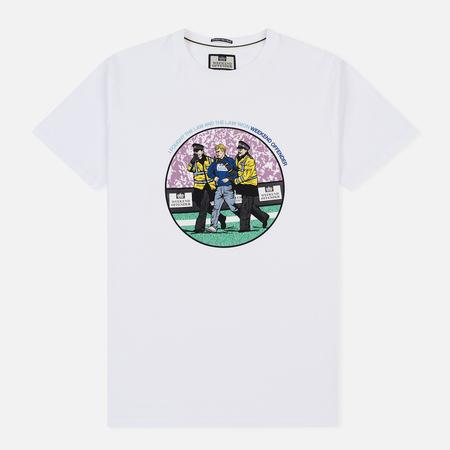 Мужская футболка Weekend Offender The Law White