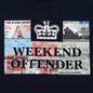 Мужская футболка Weekend Offender Tickets Navy фото - 2