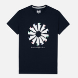 Weekend Offender Trainer Wheel Men's T-Shirt Navy photo- 0