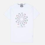 Мужская футболка Weekend Offender Trainer Wheel White фото- 0