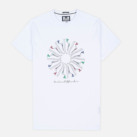 Weekend Offender Trainer Wheel Men's T-Shirt White