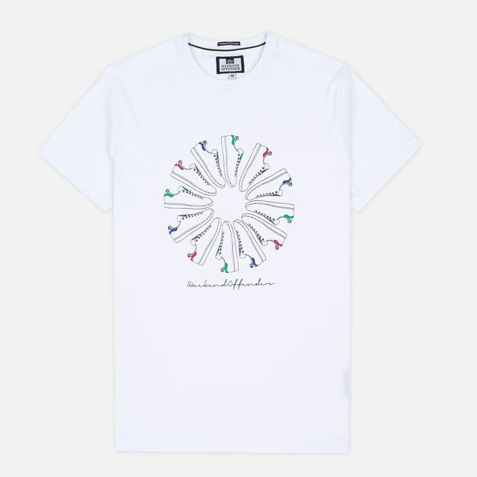 Мужская футболка Weekend Offender Trainer Wheel White