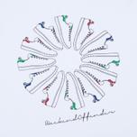 Мужская футболка Weekend Offender Trainer Wheel White фото- 2