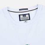 Мужская футболка Weekend Offender Trainer Wheel White фото- 1