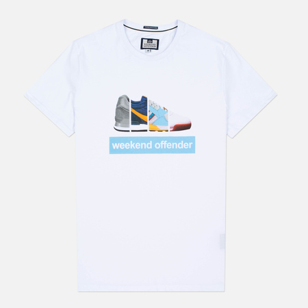 Weekend Offender Trainerspotting Men's T-Shirt White