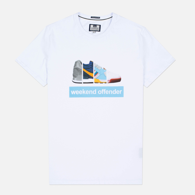 Мужская футболка Weekend Offender Trainerspotting White